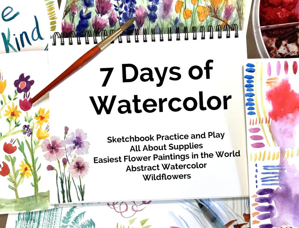7 Days Of Watercolor painting classes