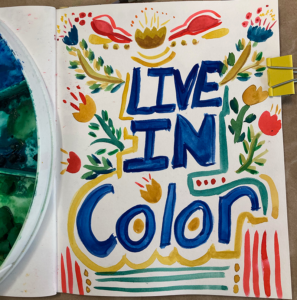 Live In Color Sketchbook watercolor